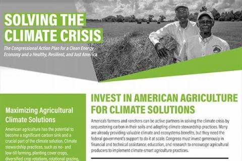 Invest in American Agriculture for Climate Solutions
