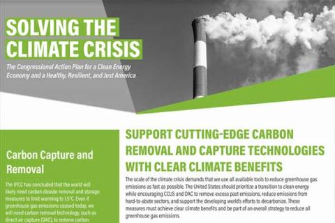 Support Cutting-Edge Carbon Removal and Capture Technologies with Clear Climate Benefits