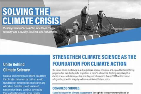 Strengthen Climate Science as the Foundation for Climate Action