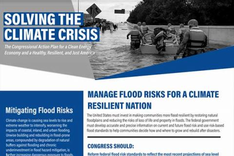 Manage Flood Risks for a Climate Resilient Nation