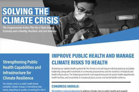 Improve Public Health and Manage Climate Risks to Health Infrastructure