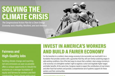 Invest in America's Workers and Build a Fairer Economy