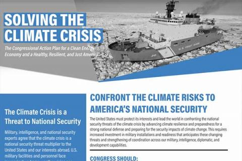 Confront the Climate Risks to America's National Security