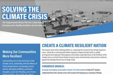 Create a Climate Resilient Nation
