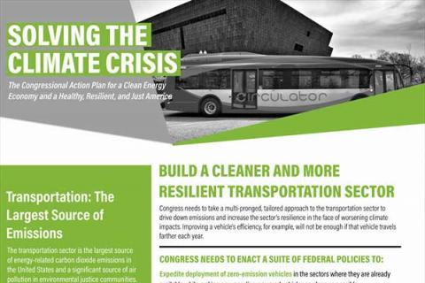 Build a Cleaner and More Resilient Transportation Sector