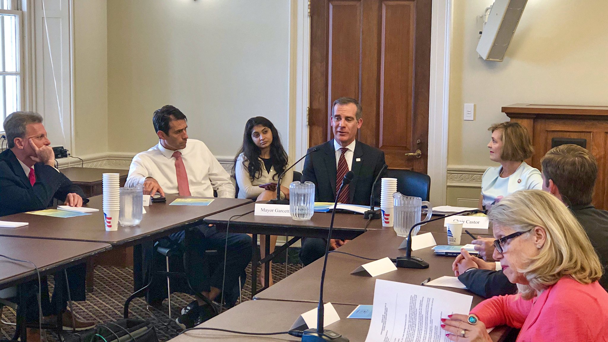 Mayor Garcetti meets with members of the Select Committee